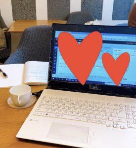 効果的なブログを書けるように勉強会にきております